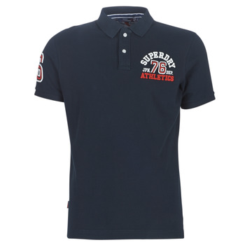 Vêtements Homme T-shirts manches courtes Superdry CLASSIC SUPERSTATE S/S POLO Bleu