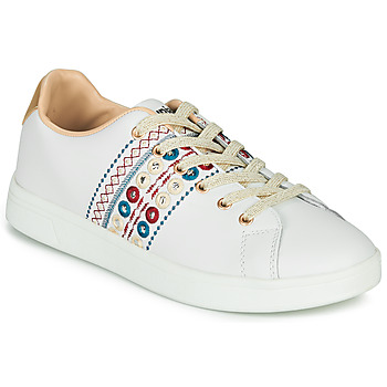 Chaussures Femme Baskets basses Desigual COSMIC NEW EXOTIC Blanc