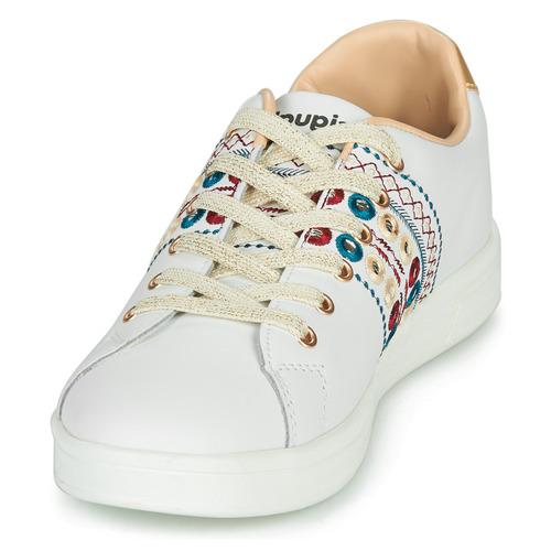 Prix Réduit Chaussures ihjdfh465DHU Desigual COSMIC NEW EXOTIC Blanc