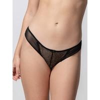 Sous-vêtements Femme Culottes & slips Luna Slip Passion noir  Splendida Noir