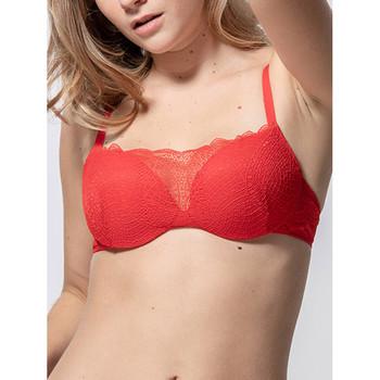Sous-vêtements Femme Rembourrés Luna Soutien-gorge push-up Passion rouge  Splendida Rouge