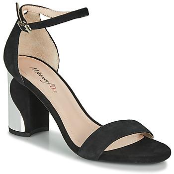 Chaussures Femme Sandales et Nu-pieds Metamorf'Ose GABELOU Noir