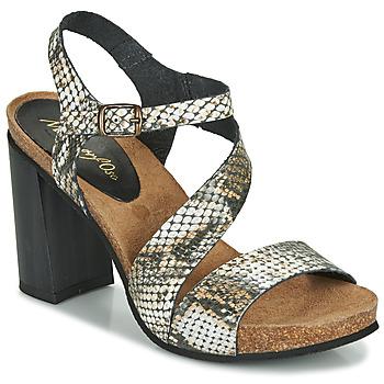 Chaussures Femme Sandales et Nu-pieds Metamorf'Ose GAFA Python