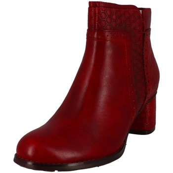 Chaussures Femme Bottines Laura Vita gicno 32 rouge