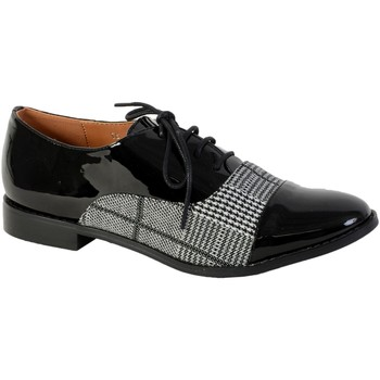 Chaussures Femme Derbies The Divine Factory Derby Noir