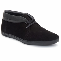 Chaussures Homme Boots Swear IGGY 25 Black Suede
