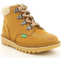 Chaussures Fille Boots Kickers Neohook CAMEL