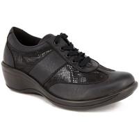 Chaussures Femme Derbies Arcopedico L73 PIEL-LICRA NEGRA Bluchers