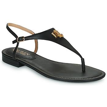 Chaussures Femme Sandales et Nu-pieds Lauren Ralph Lauren ELLINGTON SANDALS CASUAL Noir