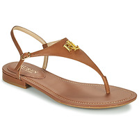 Chaussures Femme Sandales et Nu-pieds Lauren Ralph Lauren ELLINGTON SANDALS CASUAL Cognac
