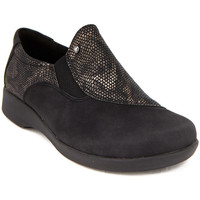 Chaussures Femme Mocassins Arcopedico L104 NUBUCK NEGRO Mocasines