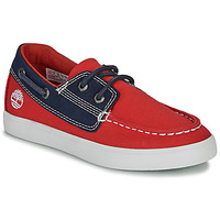 Chaussures Enfant Chaussures bateau Timberland NEWPORT BAY BOAT SHOE TD Rouge / Bleu