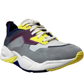 Chaussures Femme Baskets basses Timberland Delphiville Gris/jaune/violet