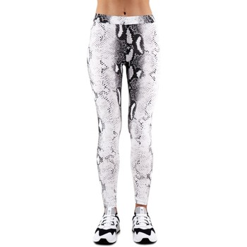 Vêtements Femme Leggings Happiness | Leggings Serpent, Blanc | HAP_I19_LEGPIT blanc