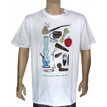T-shirts manches courtes Lrg - T-shirt - Differents Tokes - White