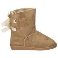 Chaussures Fille Bottes de neige Crecendo 1660 Marron