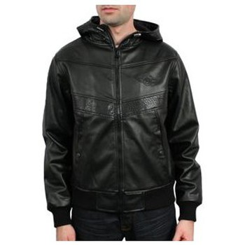 Vêtements Homme Vestes Wrung - Blouson a capuche Jacket arrow - Noir Noir