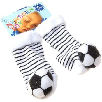Accessoires Enfant Chaussettes Intersocks Chaussettes Bottons - Coton - Newborn Toy Gris foncé