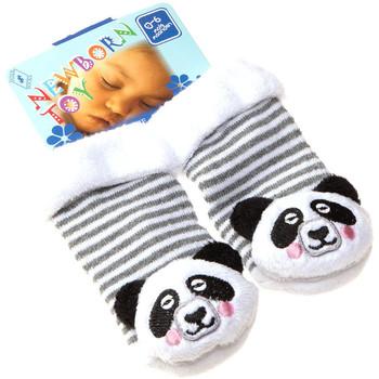 Accessoires Enfant Chaussettes Intersocks Chaussettes Bottons - Coton - Newborn Toy Gris