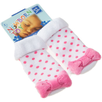 Accessoires Enfant Chaussettes Intersocks Chaussettes Bottons - Coton - Newborn Toy Rose