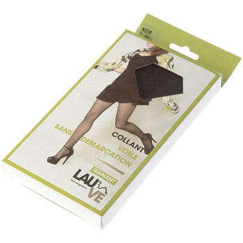 Sous-vêtements Femme Collants & bas Lauve Collant fin Signature Noir