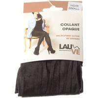 Sous-vêtements Femme Collants & bas Lauve Collant fin - Ultra opaque - Précieuse Noir