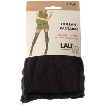Sous-vêtements Femme Collants & bas Lauve Collant fin - Semi opaque - Précieuse Noir