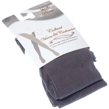 Sous-vêtements Femme Collants & bas Lauve Collant chaud - Viscose - Ultra opaque - Prestige Gris
