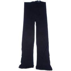 Vêtements Femme Leggings Lauve Legging fin court - Opaque Noir