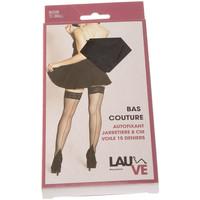 Sous-vêtements Femme Collants & bas Lauve Bas Autofixants - Emoi Noir
