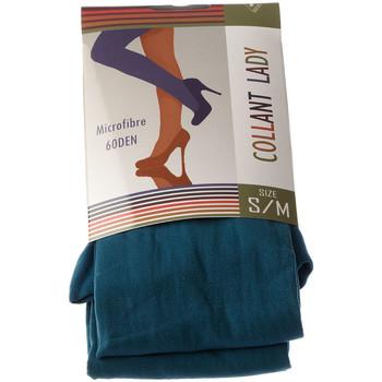 Sous-vêtements Femme Collants & bas Intersocks Collant chaud Bleu