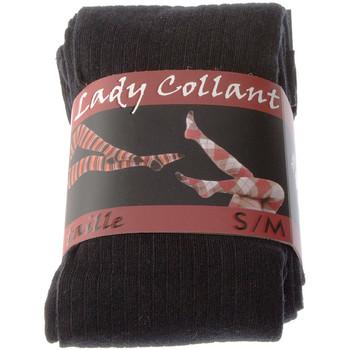 Sous-vêtements Femme Collants & bas Intersocks Collant chaud - Coton - Ultra opaque Noir