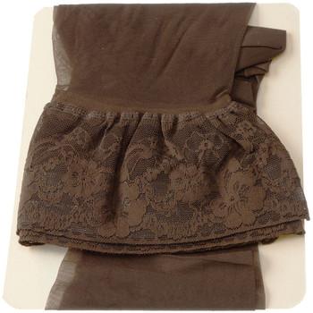 Sous-vêtements Femme Collants & bas Intersocks Bas Autofixants - Acapulco Marron