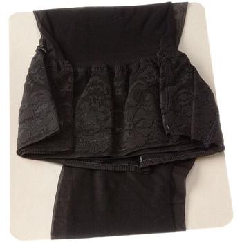 Sous-vêtements Femme Collants & bas Intersocks Bas Autofixants - Acapulco Noir