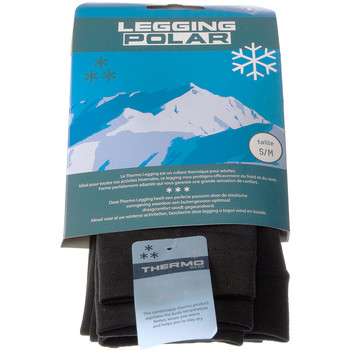 Vêtements Femme Leggings Intersocks Legging chaud long - Ultra opaque - Leggin polar Noir