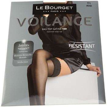 Sous-vêtements Femme Collants & bas Le Bourget Bas Autofixants - Les Quotidiens Chair