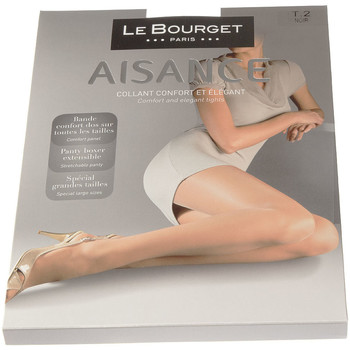 Sous-vêtements Femme Collants & bas Le Bourget Collant fin - Transparent - Les Quotidiens Noir