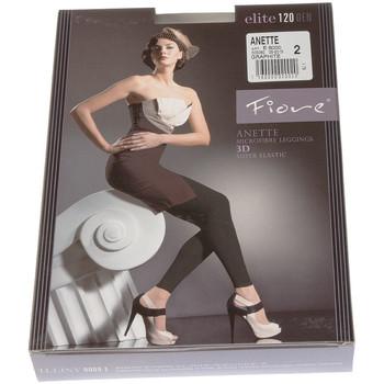 Vêtements Femme Leggings Fiore Legging chaud long - Ultra opaque - Anette Gris