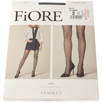 Sous-vêtements Femme Collants & bas Fiore Collant fin - Invisible - Eve 08 den Noir