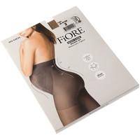 Sous-vêtements Femme Collants & bas Fiore Collant chaud - Semi opaque - Mama 40 den Chair