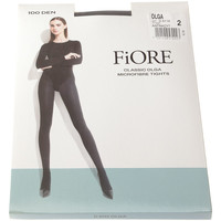 Sous-vêtements Femme Collants & bas Fiore Collant chaud - Ultra opaque - Olga 100 den Gris