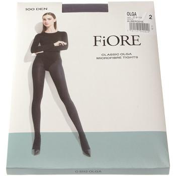 Sous-vêtements Femme Collants & bas Fiore Collant chaud - Ultra opaque - Olga 100 den Violet