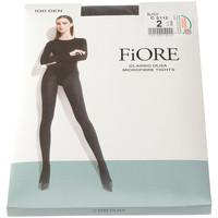 Sous-vêtements Femme Collants & bas Fiore Collant chaud - Ultra opaque - Olga 100 den Noir
