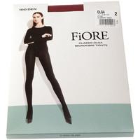 Sous-vêtements Femme Collants & bas Fiore Collant chaud - Ultra opaque - Olga 100 den Rouge