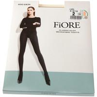 Sous-vêtements Femme Collants & bas Fiore Collant chaud - Ultra opaque - Olga 100 den Beige