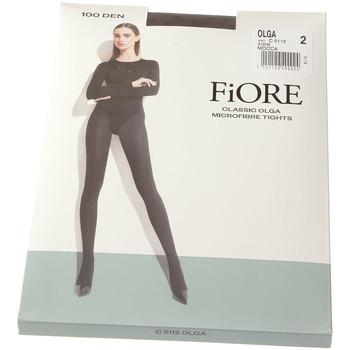 Sous-vêtements Femme Collants & bas Fiore Collant chaud - Ultra opaque - Olga 100 den Marron