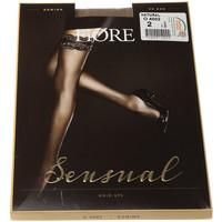 Sous-vêtements Femme Collants & bas Fiore Bas Autofixants - Romina 20 den Chair