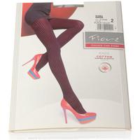 Sous-vêtements Femme Collants & bas Fiore Collant chaud - Coton - Ultra opaque - Xara cotton Violet