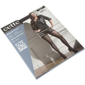 Sous-vêtements Femme Collants & bas Cette Collant fin - Semi opaque - Seattle size plus Noir