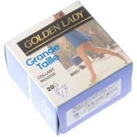 Sous-vêtements Femme Collants & bas Golden Lady Collant fin - Transparent - Grande taille Noir